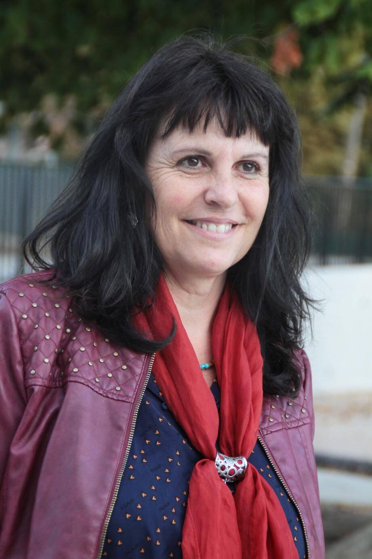 Hélène Guers en résidence d'artiste sur la commune pendant trois mois.