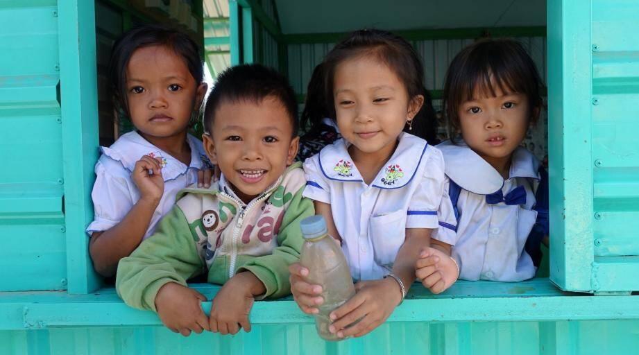 « Le pays du sourire », bien représenté ici par les enfants. (DR)
