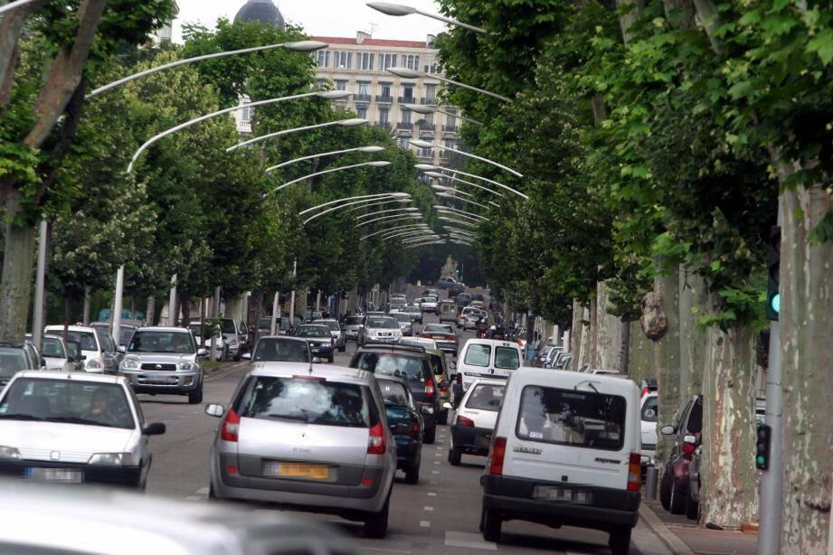 Le boulevard de Cimiez (image d'illustration)