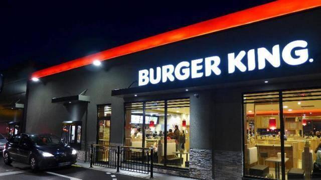 Le Burger King de La Garde