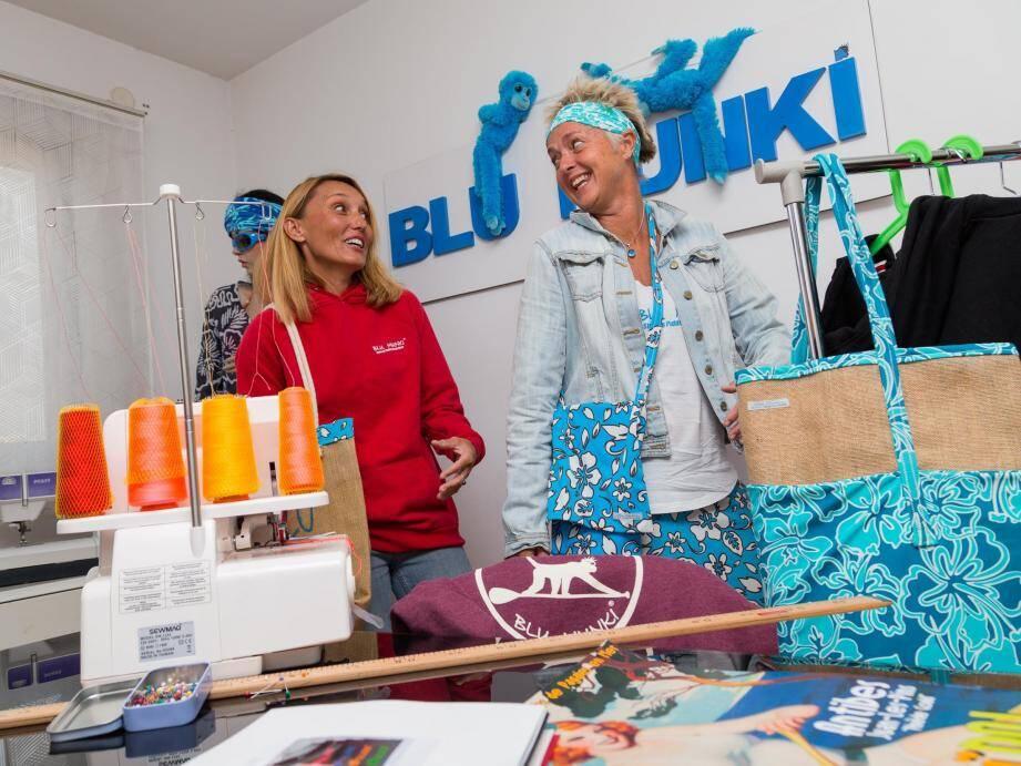 Marie Caron et Kim Wilkins partagent leur passion à travers leurs créations Blu Munki.