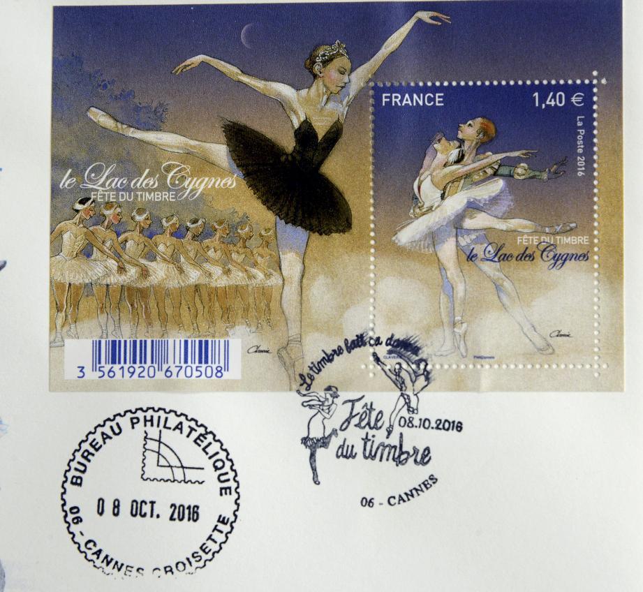 Un des deux nouveaux timbres.