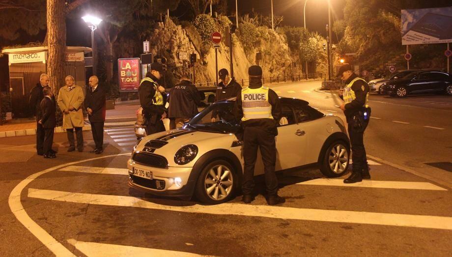 C'est lors d'un contrôle de police à l'entrée ouest de Monaco que la drogue a été retrouvée.