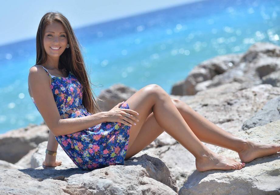 Jade Scott, Miss Côte d'Azur.