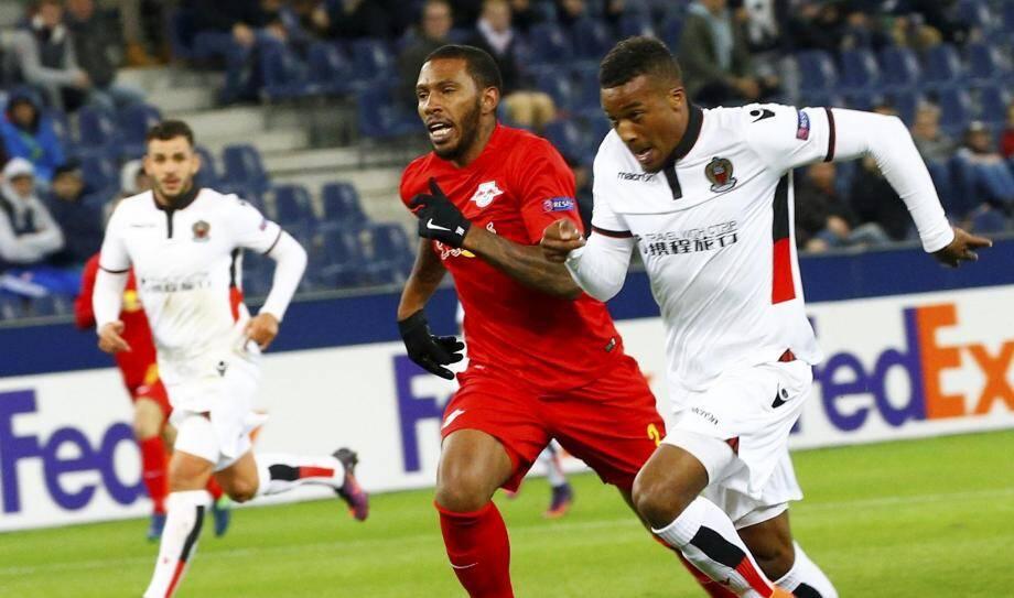 Alassane Pléa a inscrit le but de la victoire ce soir en Autriche.