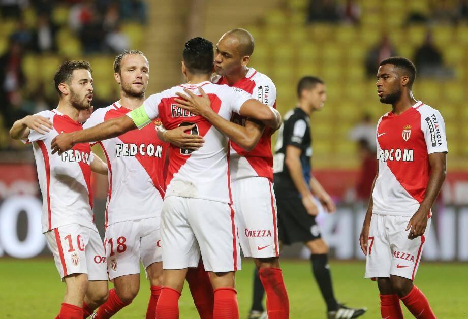 Après les six buts contre Montpellier (6-2), l'AS Monaco de Bernardo Silva, Germain, Falcao et Fabinho a récidivé contre Nancy.