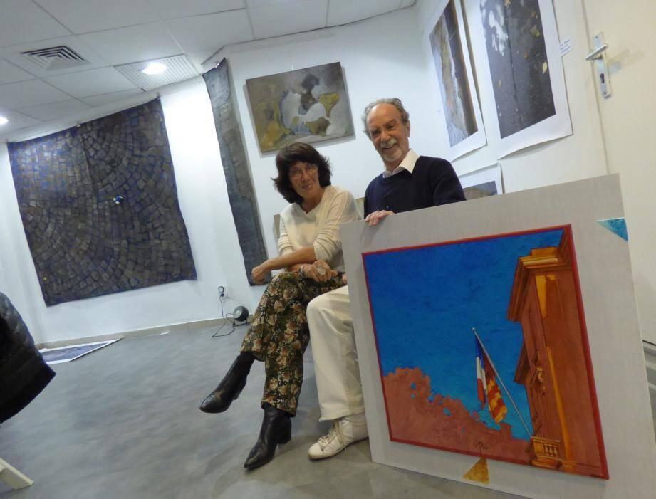 Ica Saëz et Albino Marcolli pour une exposition montée dans l'urgence avec Alain Rabot. Ce sont parfois les meilleures…