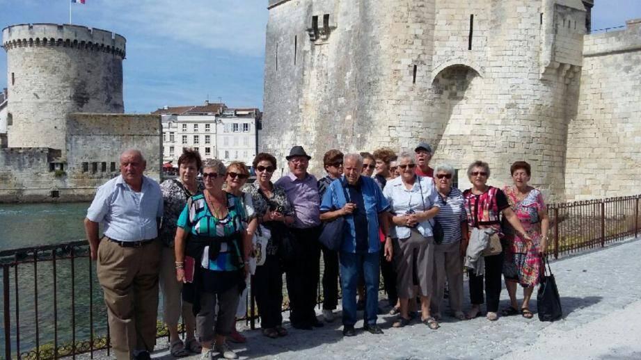 À La Rochelle comme tout au long du voyage, la météo a fait de ce séjour un moment, qui restera dans les mémoires des participants.(D.R.)