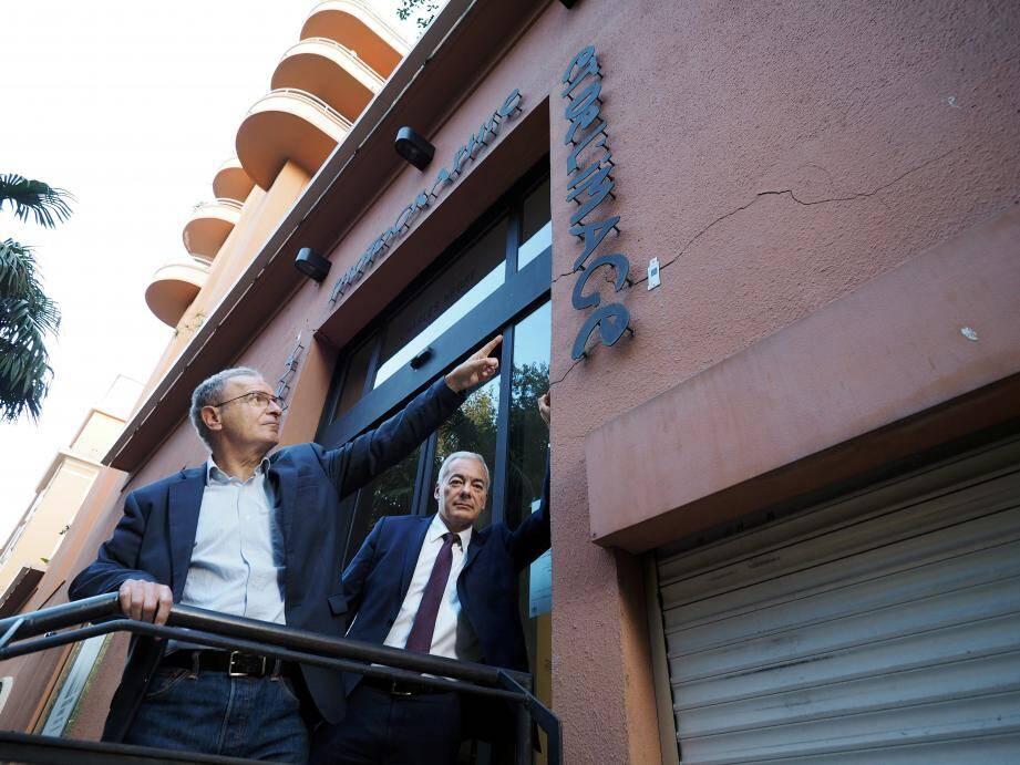 Paul Cuturello et Patrick Allemand, élus PS.
