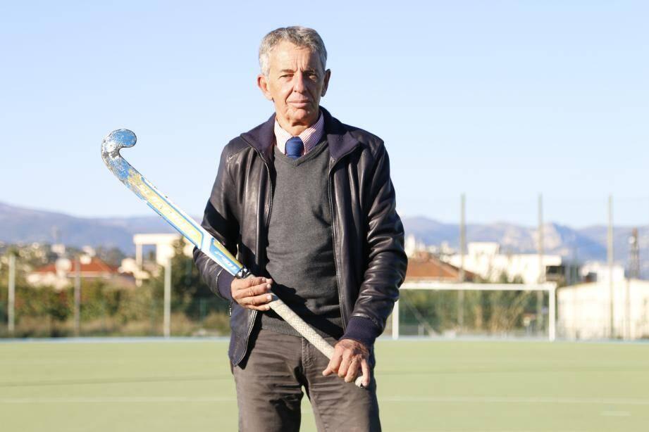 Patrick Chini reste vice-président de l'AS Fontonne hockey.