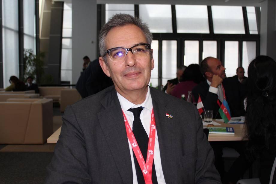 Antonio Gonçalves espère pouvoir travailler avec le géant du pétrole en Azerbaïdjan.