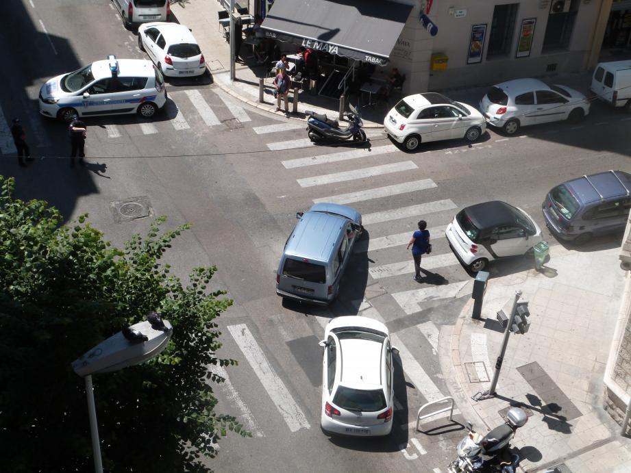 La Métropole a proposé d'installer deux appareils contrôlant la vitesse au carrefour des rues Miollis et Vernier.