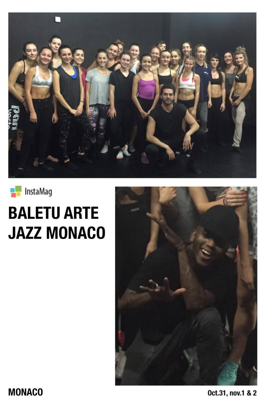 Brice Mousset est venu de New York pour animer ce stage de danse.(DR)