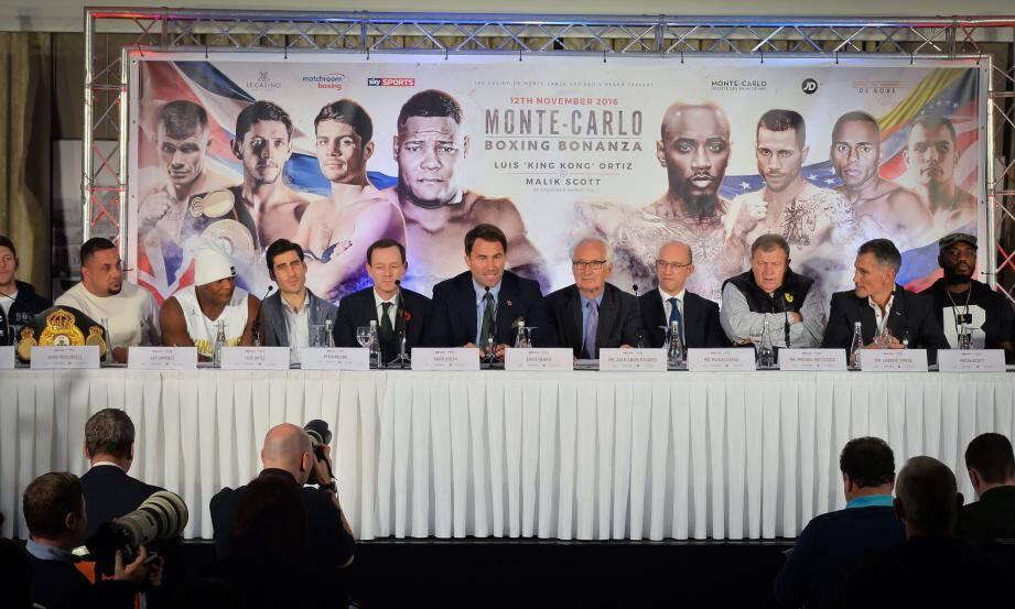 La SBM a choisi de s'associer à la compagnie anglaise Matchroom Boxing, réputée dans son domaine, pour relancer des combats d'envergure en Principauté.