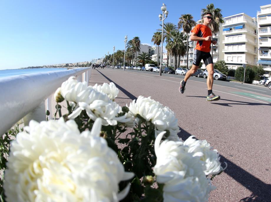 Par respect pour les victimes, le marathon ne s'élancera pas de la promenade des Anglais cette année. Mais les participants entendent transcender l'enjeu sportif en hommage collectif.