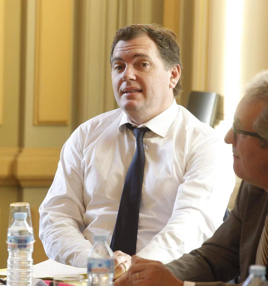 Philippe Tabarot, vice- président de la Région en charge des Transports.