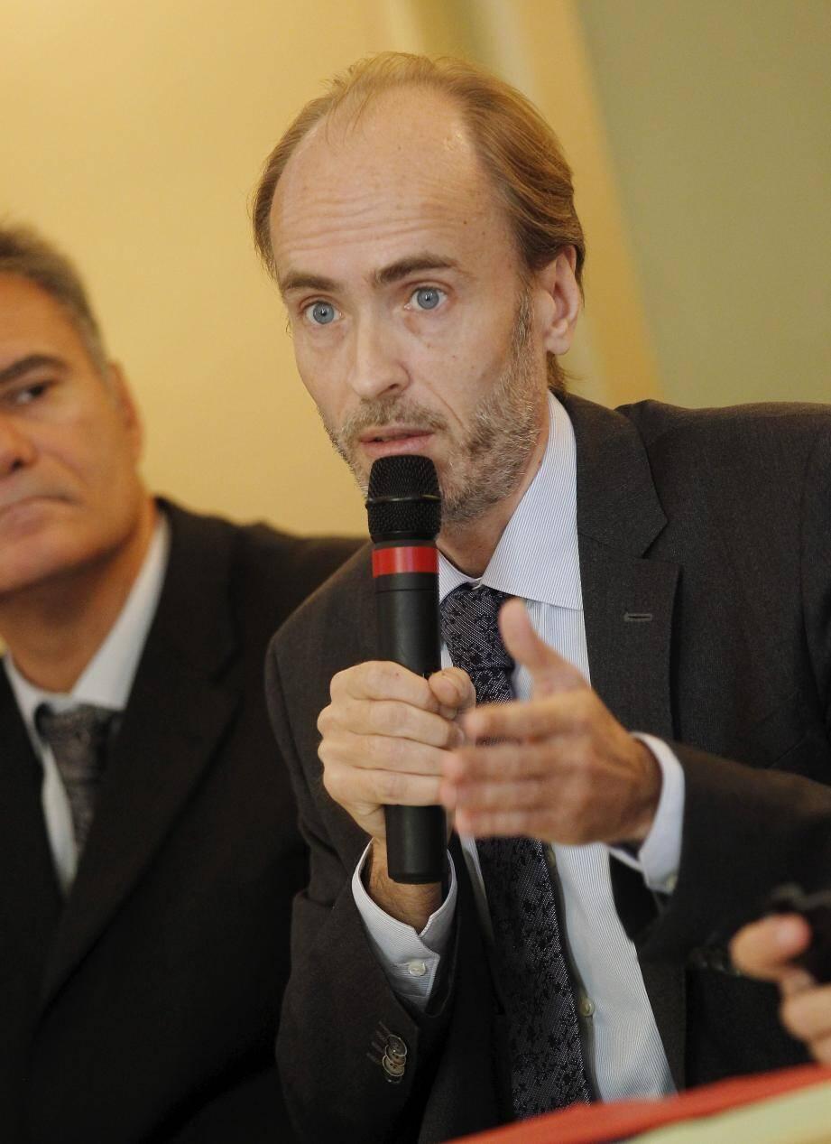 Emmanuel Gaulin, commission transports de l'UPE06.
