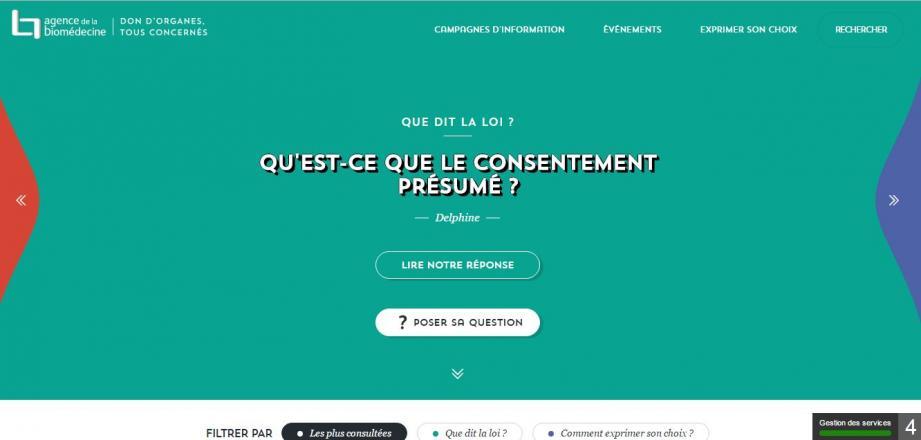 Le site www.dondorganes.fr de l'Agence de la biomédecine explique comment  se déroule le don d'organes.