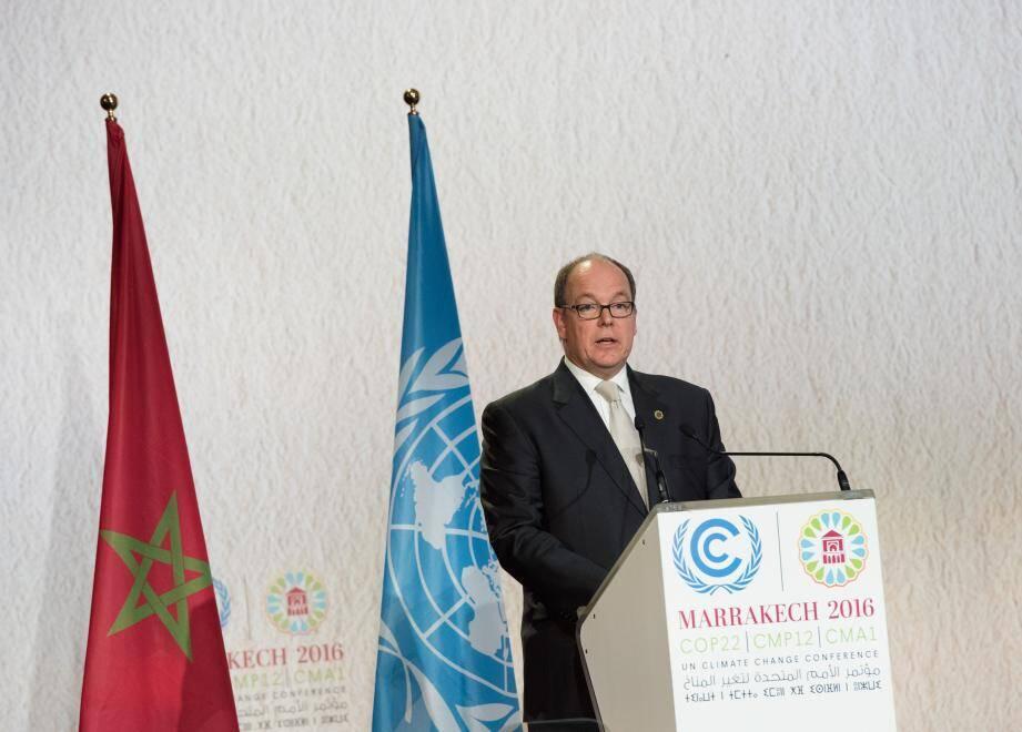 """Pour le souverain, il est impératif de veiller à la """"bonne santé des mers qui sont nos premiers alliés contre le réchauffement climatique"""""""