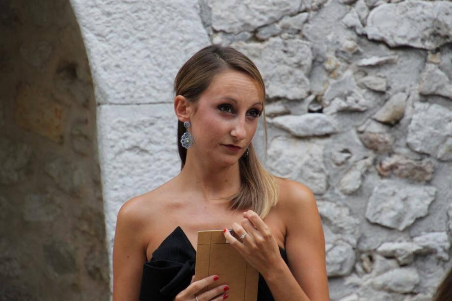 La jeune soprano Cécilia Porte chante aujourd'hui à la Siesta.(DR)