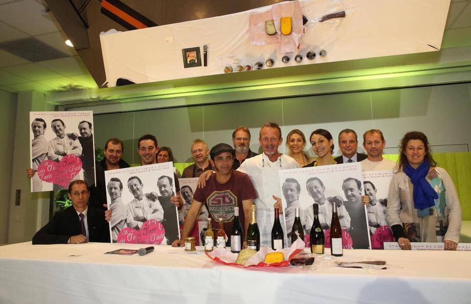 Dans les allées du Salon, sont présents de nombreux producteurs sélectionnés pour la qualité de leurs produits. D'ailleurs, certains ont été récompensés par le chef Stéphane Raimbault.