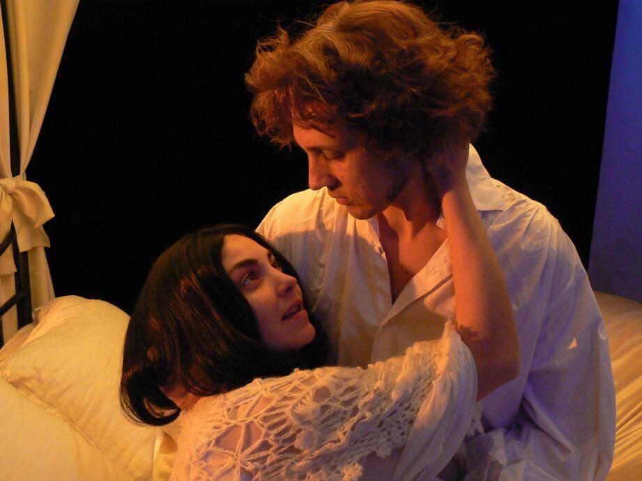 Claire et Denis Duthieuw incarnent l'un des couples les plus créatifs du XIXe siècle.DR
