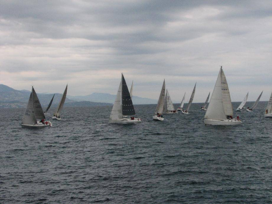58 bateaux ont participé à la coupe du vin de l'APPA.(DR)