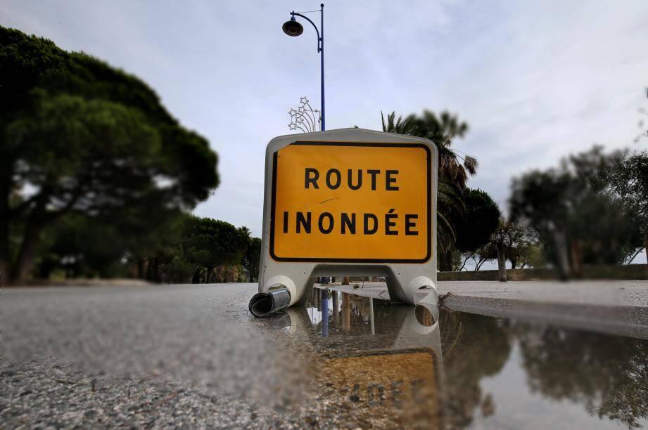 Plusieurs routes ont subi les affres du temps dans le Var.