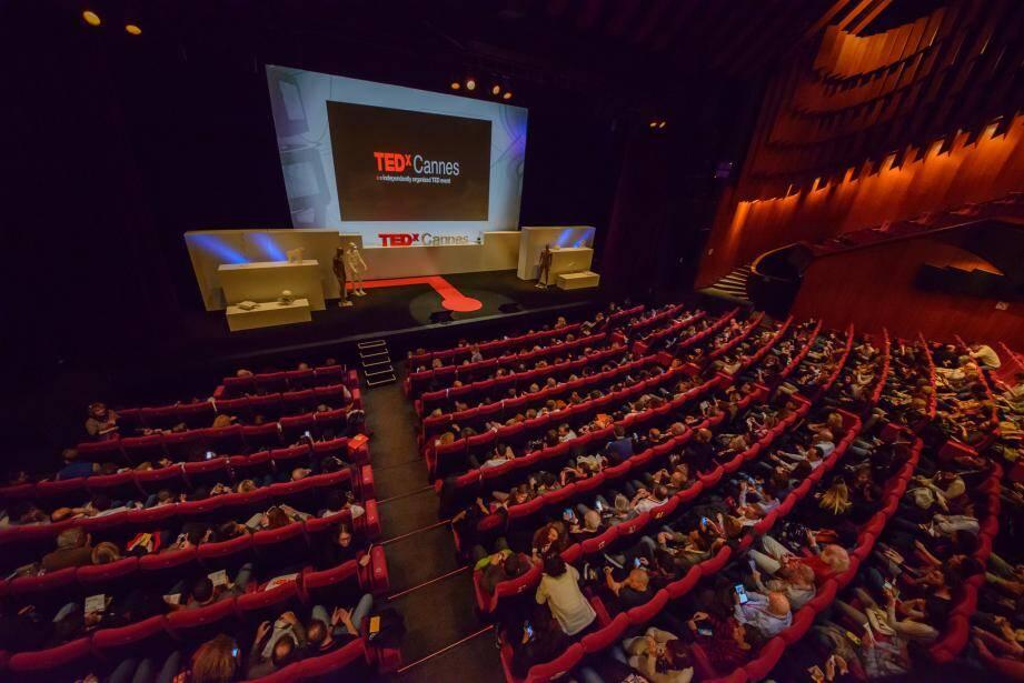 À Cannes, la conférence TED avait réuni plus de 500 personnes l'an dernier.(DR)