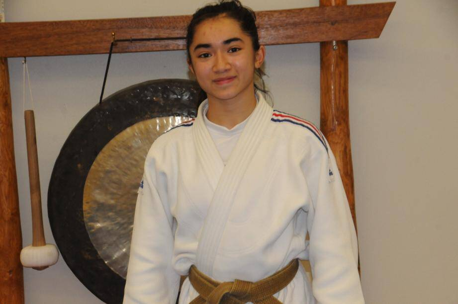 La jeune laurentine est devenue vice-championne de France.