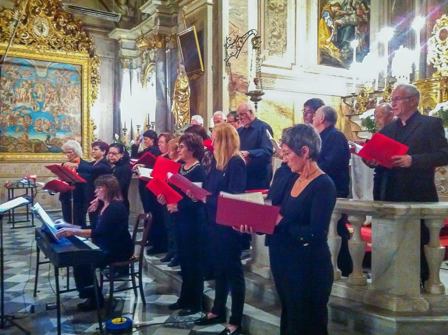 « Sola Voce » viendra livrer une prestation musicale dans le cadre de la Sainte-Cécile. (DR)