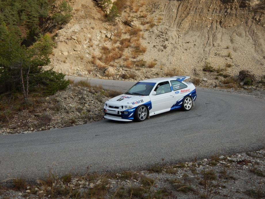 François Delecour et la Ford Escort Cosworth groupe A : retour vers le futur !