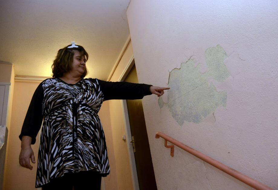 Agnès Costa, locataire aux Orangers, espère une rénovation au plus tôt.