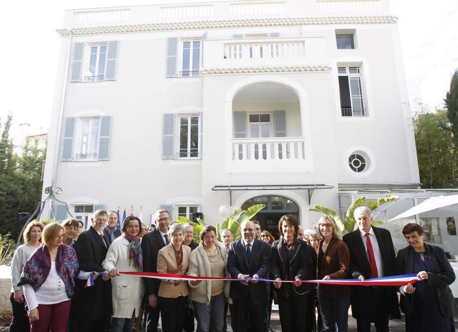 La Villa Bréa, proche du boulevard Gorbella, a été inaugurée. Une résidence qui accueille des personnes atteintes de troubles psychiques.