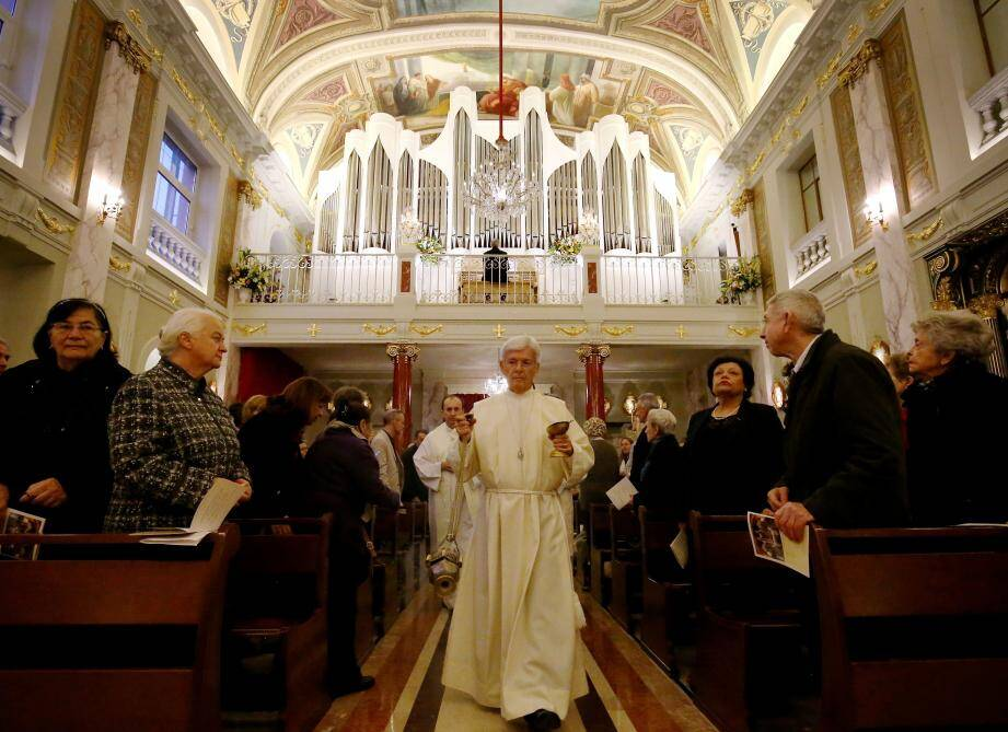 La cérémonie ouvre une nouvelle page d'histoire pour l'église depuis le démontage de l'ancien orgue en février 2013.