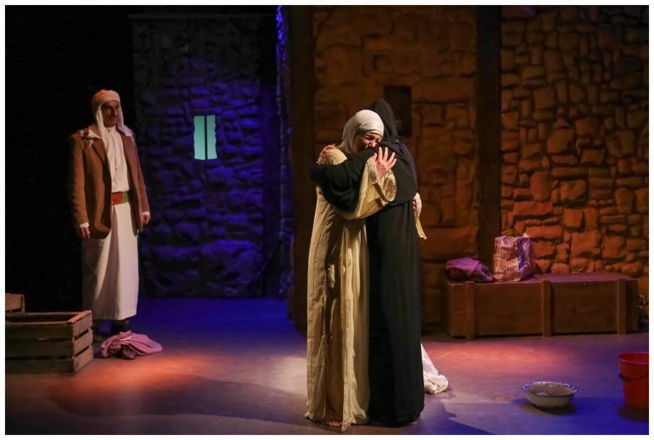 Lapidée est présenté à partir de demain, aux Théâtre des Muses.(DR)