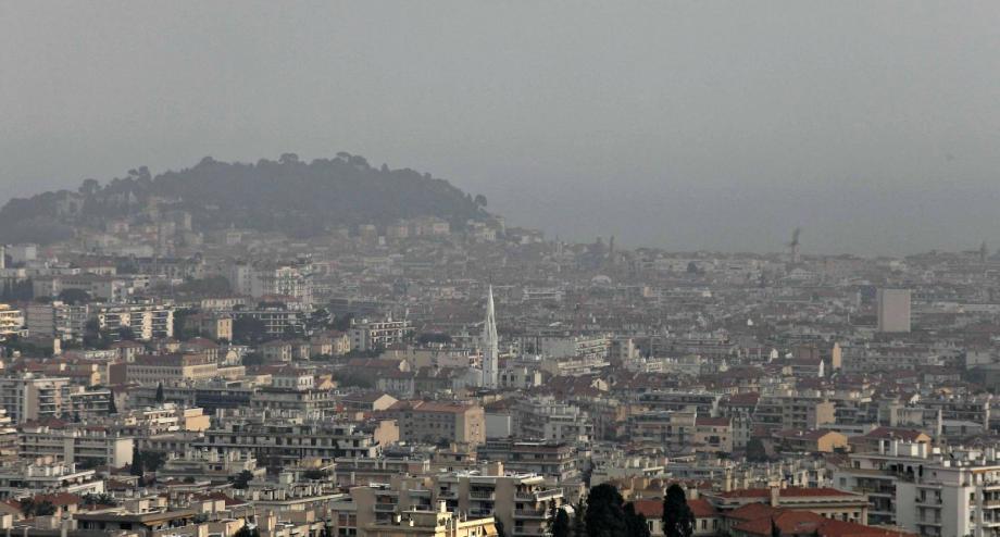 La pollution atmosphérique à Nice (image d'illustration).