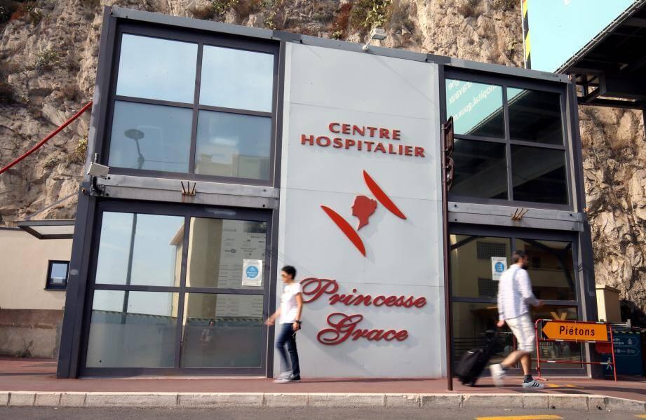 Le centre hospitalier Princesse-Grace.
