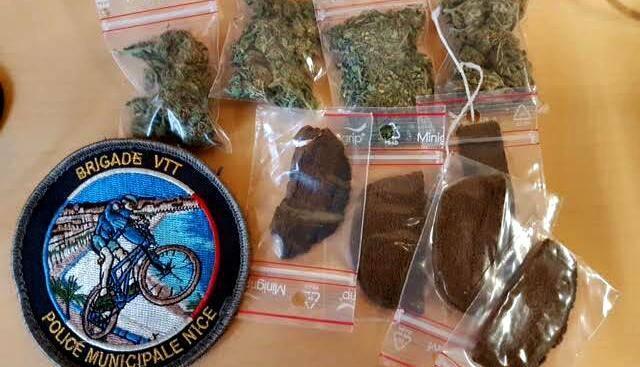 De l'herbe et de la résine de cannabis a été saisie par la police municipale en pleine Coulée verte.