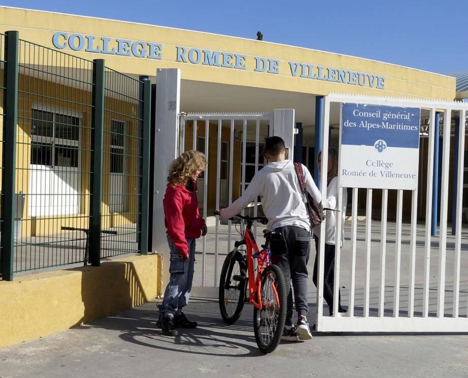 Le collège de Villeneuve,