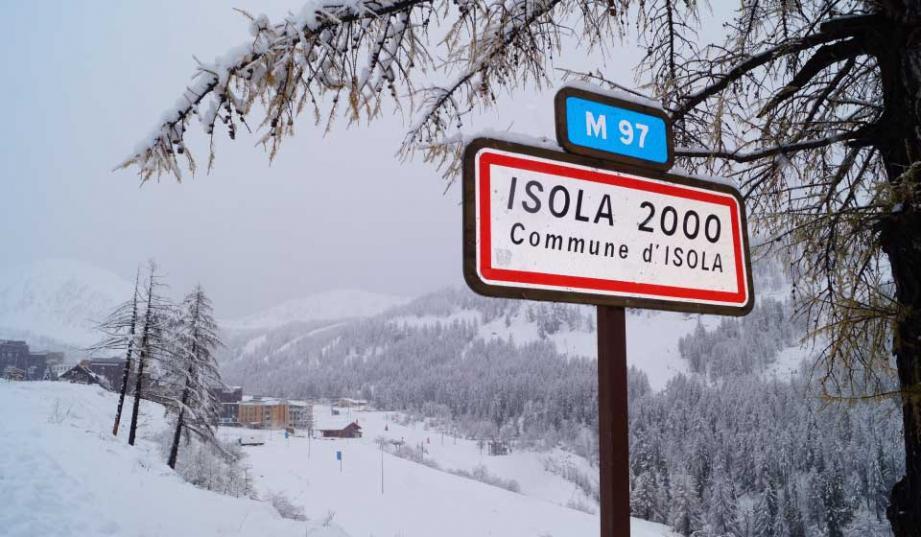L'entrée de la station d'Isola (image d'illustration)