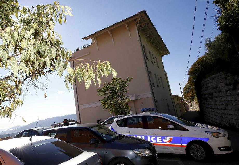 La résidence où le couple a été retrouvé.