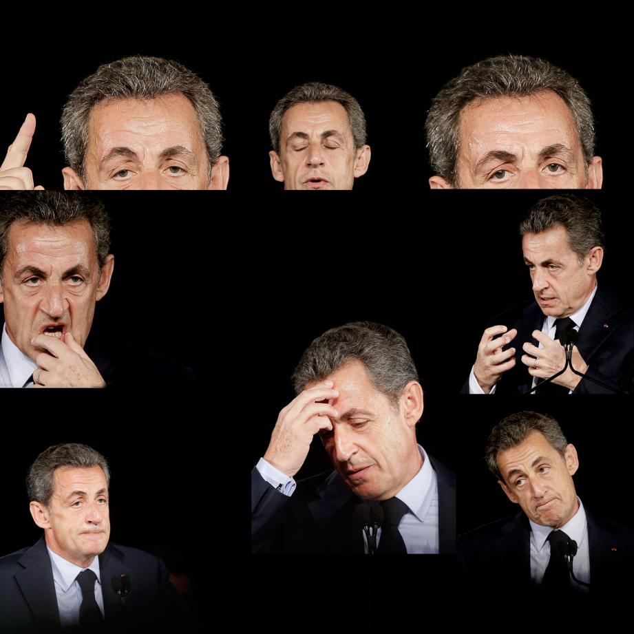 Nicolas Sarkozy à Bordeaux, le 20 novembre 2016
