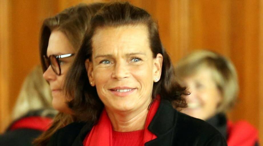 La princesse Stéphanie de Monaco