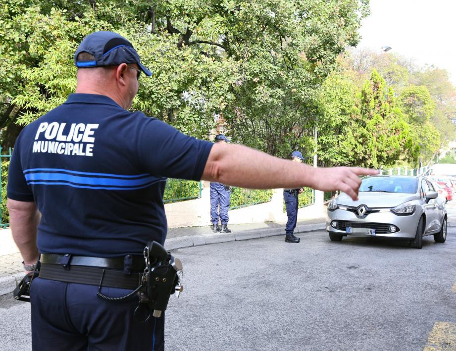 Illustration police.