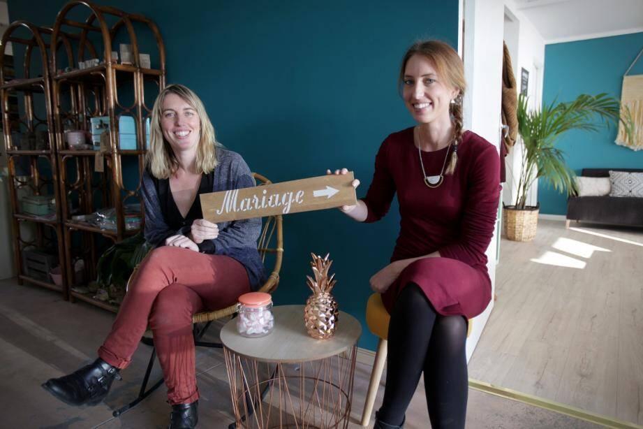 Julie et Jessica, co-fondatrices de Save the deco, un mariage gagnant.