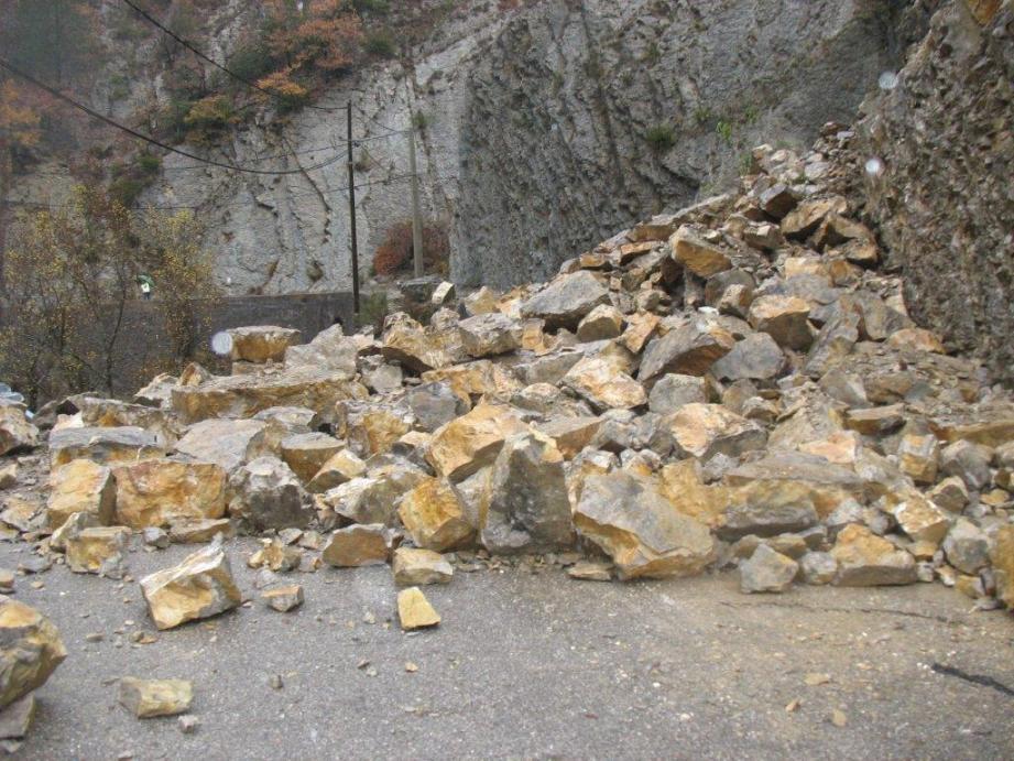 Le géologue a effectué une visite ce jour pour expertiser les travaux réalisés.