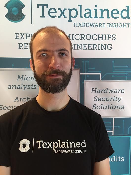 Olivier Thomas, fondateur et expert en sécurité hardware chez Texplained.