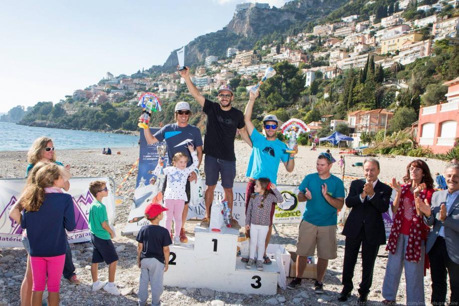 Tim Alongi a été proclamé champion de France.