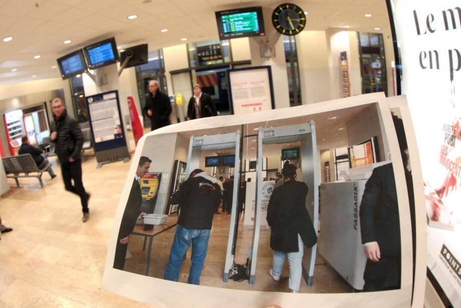 Les portiques de sécurité en gare des Arcs-Draguignan ont été retirés.
